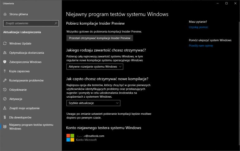Windows 10 - jak możesz pobrać szybciej aktualizację Maj 2019?