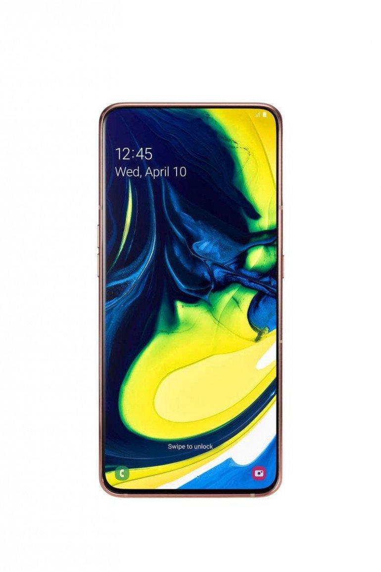 Samsung Galaxy A80: stworzony z myślą o transmisjach live