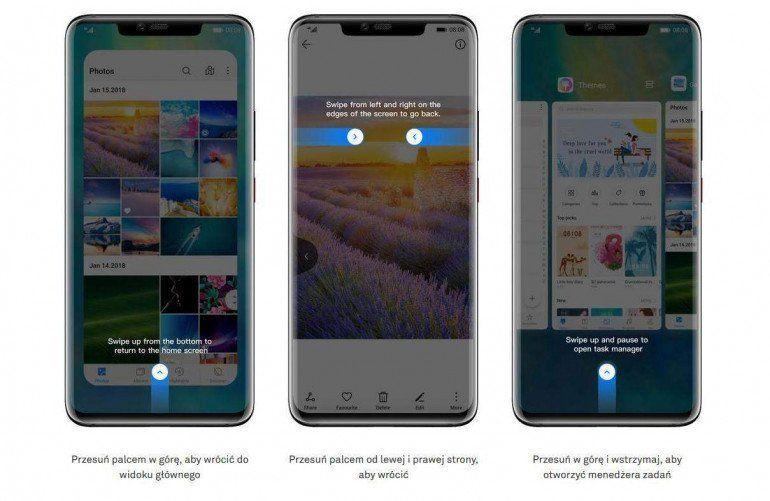 EMUI 9.1 dla 49 starszych urządzeń Huawei i Honor