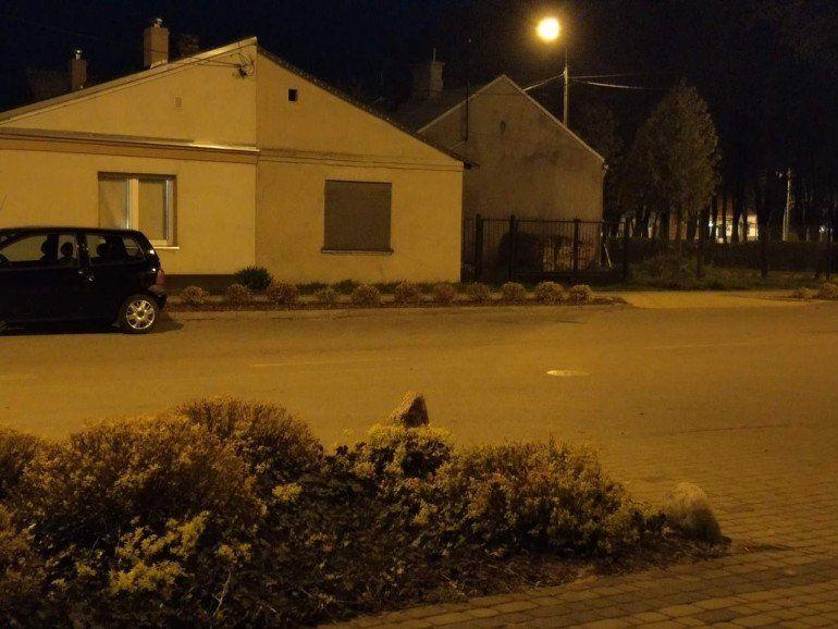 Zdjęcie nocne z wykorzystaniem zoomu optycznego