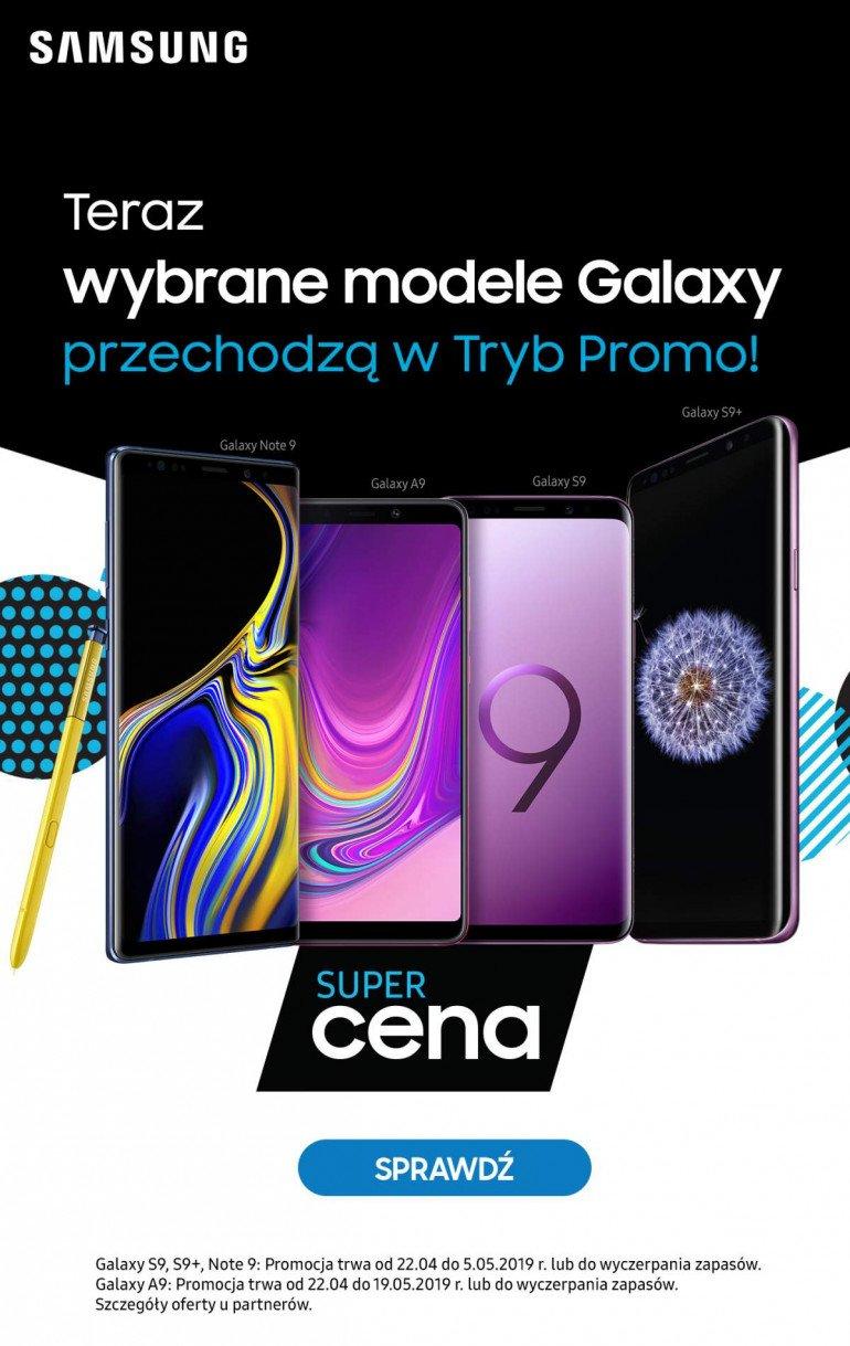 Urządzenia Samsung przechodzą w Tryb Promo