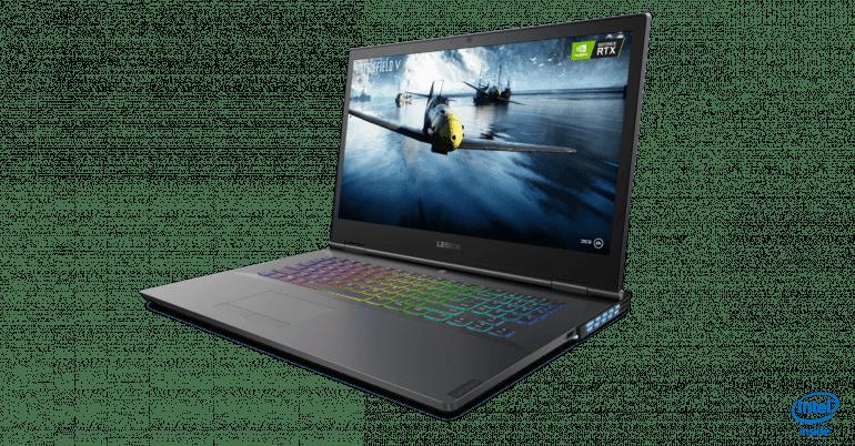 Laptopy Lenovo Legion otrzymują procesory Intel 9. generacji