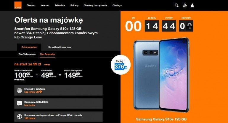 Samsung Galaxy S10e - ostatnie chwile dużej zniżki!