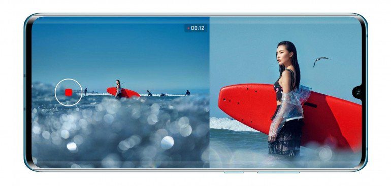 Huawei P30 i P30 Pro z nową funkcją podwójnego wideo