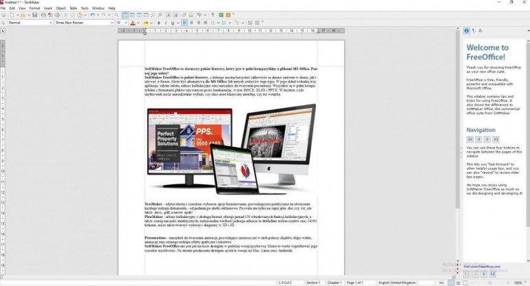 SoftMaker FreeOffice - darmowy pakiet biurowy