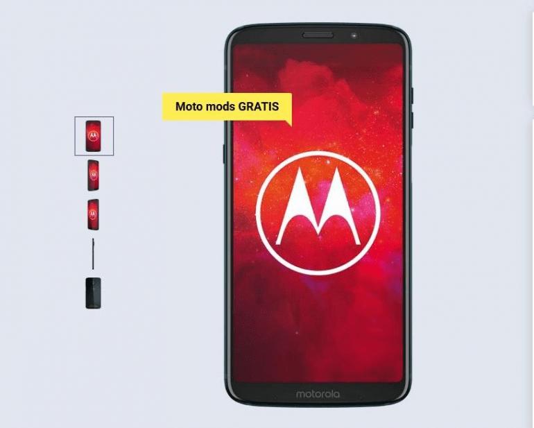 Motorola moto z3 z modsami w atrakcyjnej promocji w Play