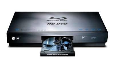 LG BH100 - odtwarza zarówno Blu-ray, jak i HD DVD