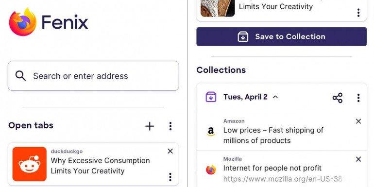 Mozilla Fenix - nowa przeglądarka już dostępna