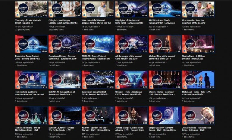 Finał Eurowizji 2019 - gdzie oglądać online?