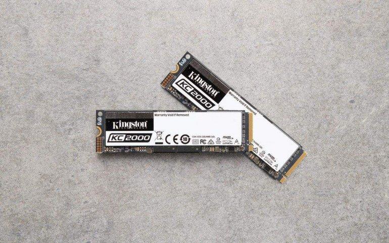 Kingston wprowadza na rynek KC2000 — dysk SSD NVMe PCIe nowej generacji
