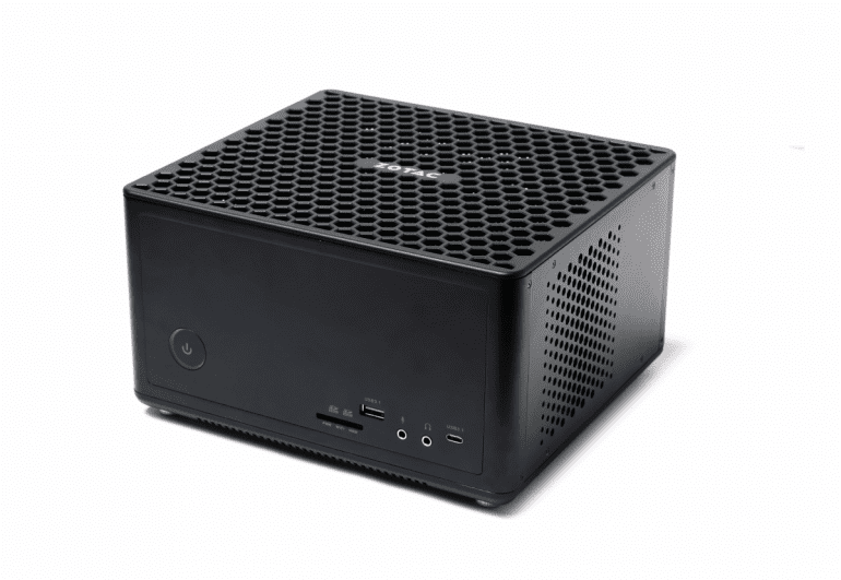 ZBOX Q Mini Creator PC napędzane przez Intel Xeon i NVIDIA Quadro