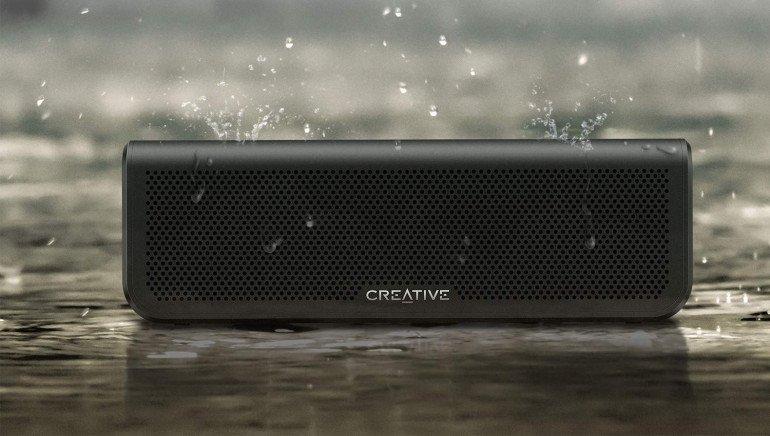 Creative Metallix Plus - wodoodporny głośnik Bluetooth z baterią 24h.