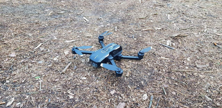 Test Yuneec Mantis Q - małego składanego quadrocoptera