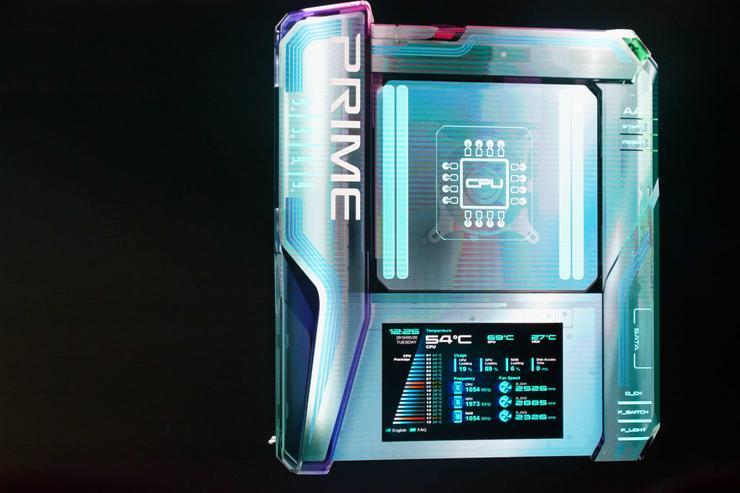 Asus pokazuje swoją koncepcję płyty głównej przyszłości