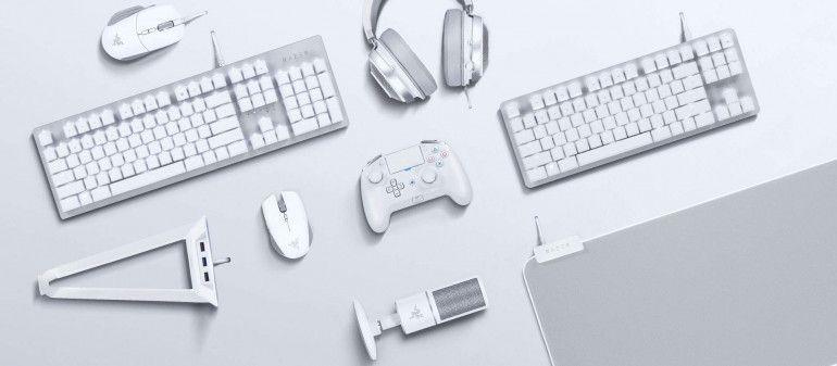 Razer prezentuje białe akcesoria i urządzenia gamingowe