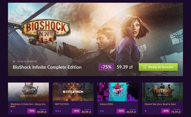 Summer Sale Festival na GOG.COM - duże przeceny gier