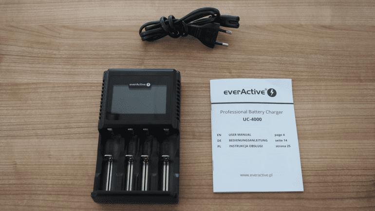 everActive UC-4000 - Zaawansowana ładowarka do akumulatorków Li-Ion oraz Ni-MH.