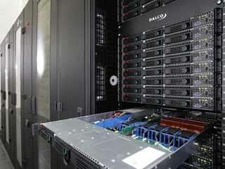Wnętrze superkomputera