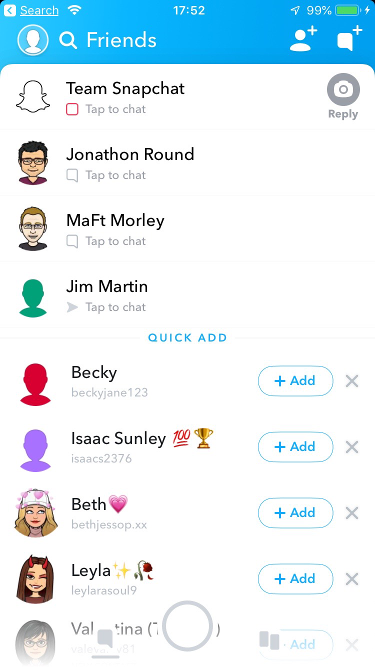 Snapchat Snapchat