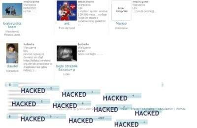 Serwis grono.net jest podatny na włamanie i kradzież kont użytkowników.