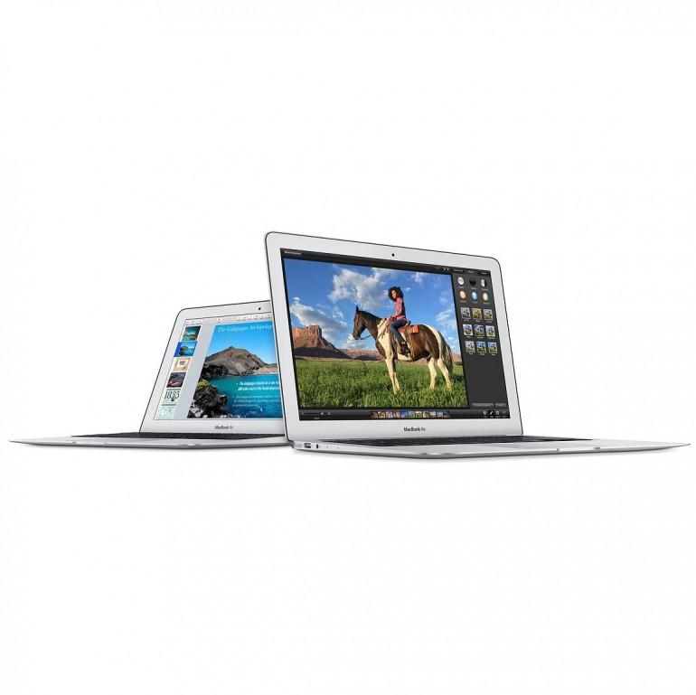 11 i 13 calowe MacBook'i Air z 2015 roku Źródło: Apple