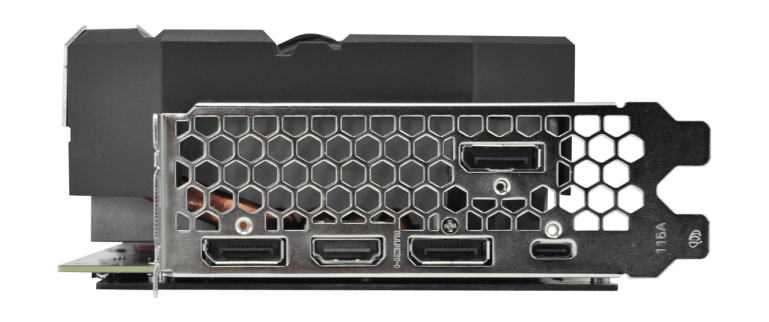 Starszy RTX 2070 Posiada gniazda USB-C. To prosty sposób na odróżnienie kart.