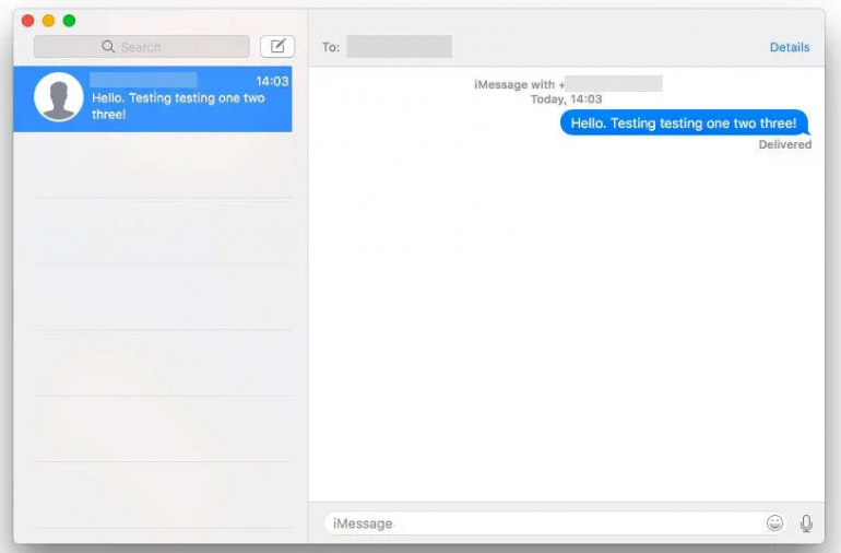 Jak odbierać wiadomości SMS na Mac'u?