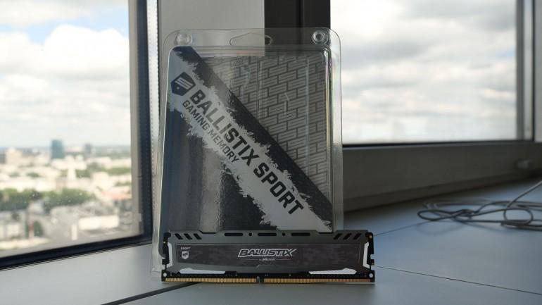 Ballistix Sport LT - test pamięci pamięci stworzonych dla graczy