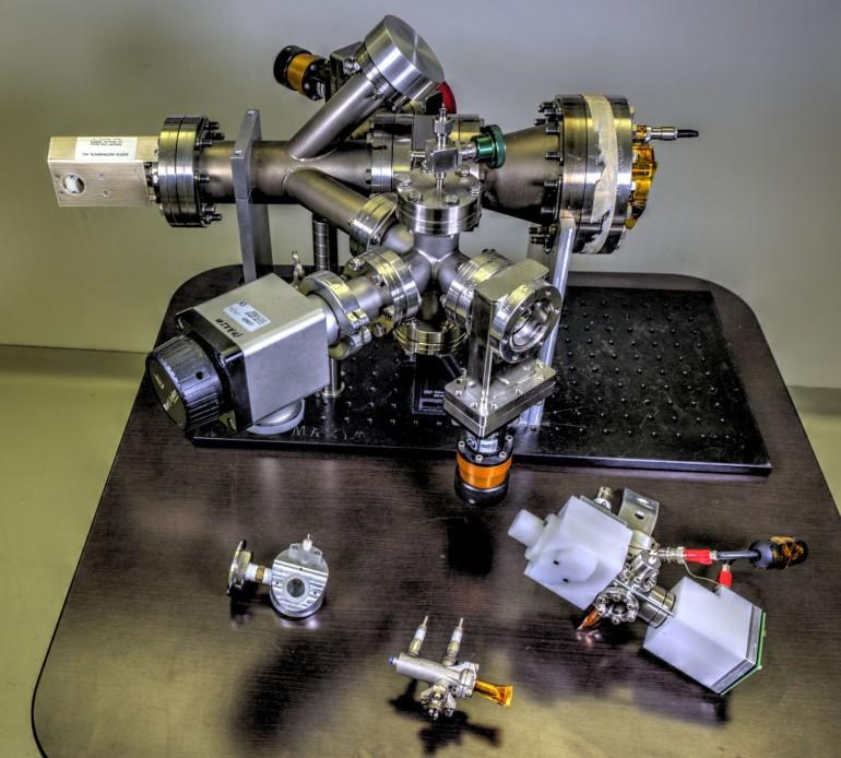 5.Zródło promieniowania rentgenowskiego, kluczowy element pierwszej w NASA demonstracji komunikacji rentgenowskiej w kosmosie. Źródło: NASA (Public Domain Mark 1.0)