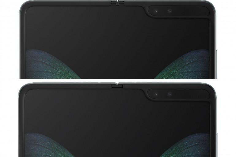 Nowy Galaxy Fold na górze Źródło: Samsung