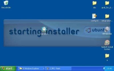 install.exe/Prototype w akcji (źródło: wiki Ubuntu)