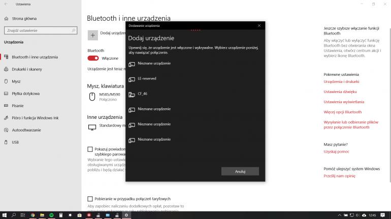 Jak sprawdzić, czy komputer jest wyposażony w Bluetooth