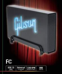 Zewnętrzny dysk twardy Gibson 500 GB