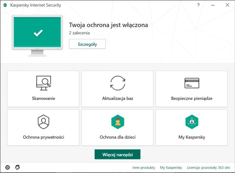 Kaspersky Internet Security 2020: recenzja nowej wersji programu