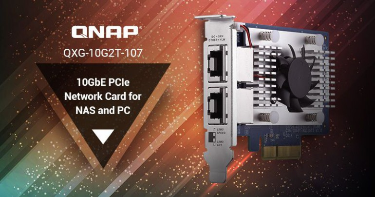 Nowości od QNAP - NAS-y TVS-x72N, nowe karty sieciowe i adaptery dysków SSD oraz premiera QTS 4.4.1