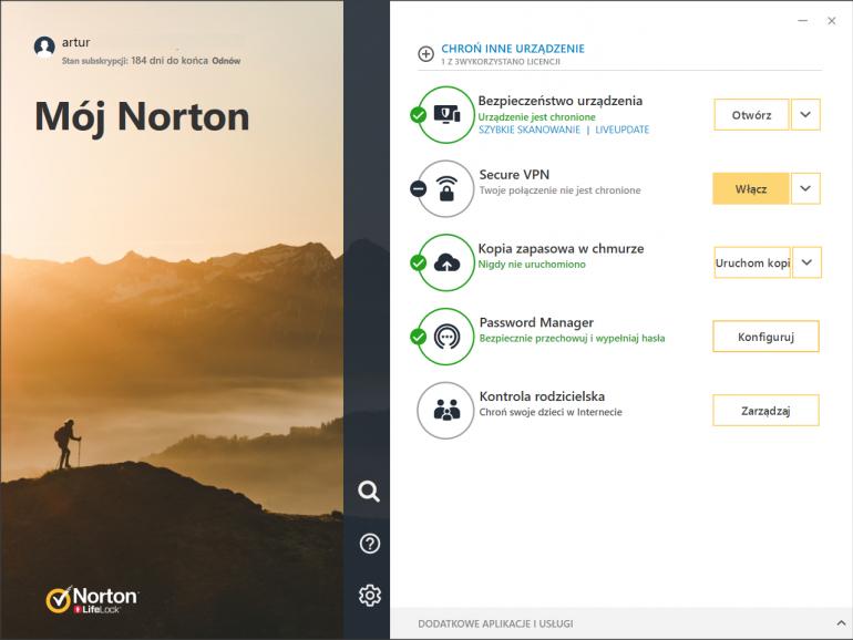 Norton 360 ewoluował, aby skuteczniej chronić przed aktualnymi zagrożeniami