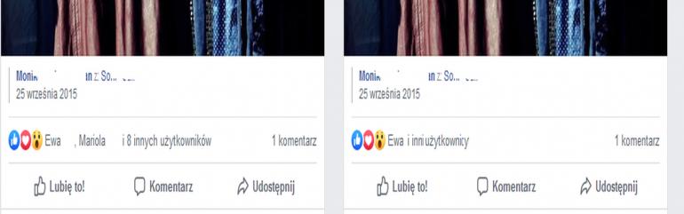 Facebook testuje ukrywanie liczby reakcji