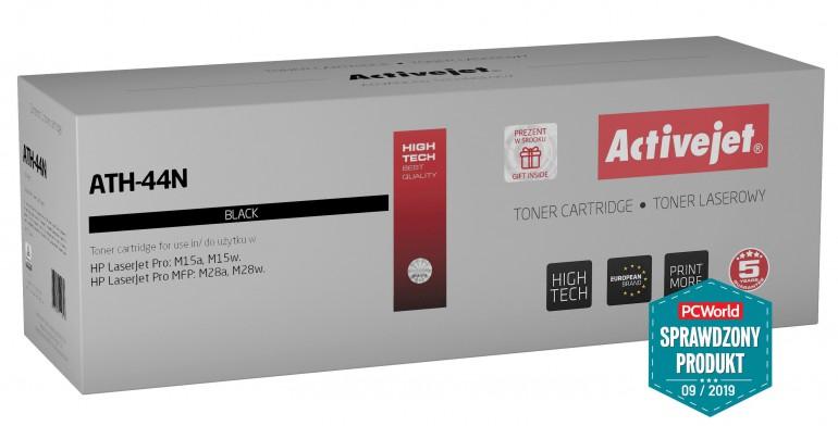 Activejet ATH-44N - test porównawczy z tonerem HP 44A CF244A