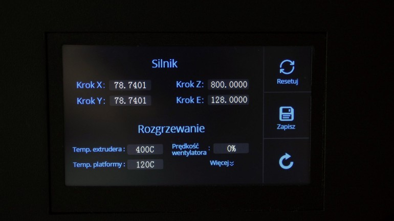 ORLLO F3D PRO 420 - Drukarka 3D z kamerą IP WiFi do podglądu druku