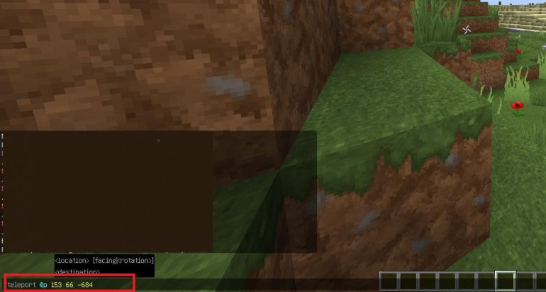 Как телепортироваться в Minecraft?