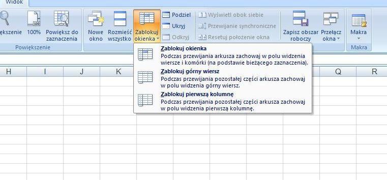 Excel Jak Zablokować Wiersz Pc World Testy I Ceny