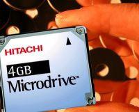 Hitachi - pojemniejsze Microdrive
