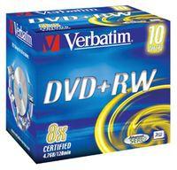 Verbatim: szybkie nagrywanie DVD+RW