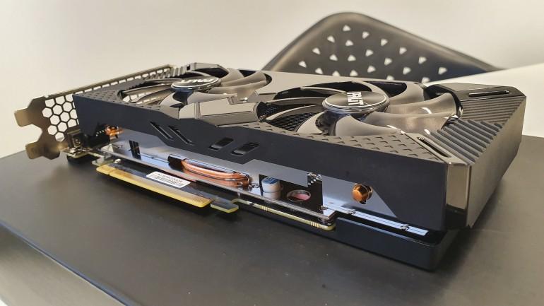 Palit GeForce GTX 1660 SUPER GamingPro OC - recenzja i porównanie z GeForce RTX 2060