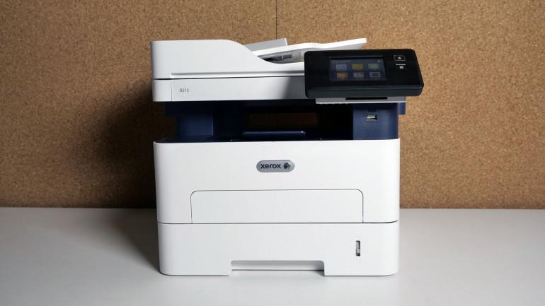 Xerox B215 - monochromatyczna drukarka wielofunkcyjna z Wi-Fi i dotykowym ekranem