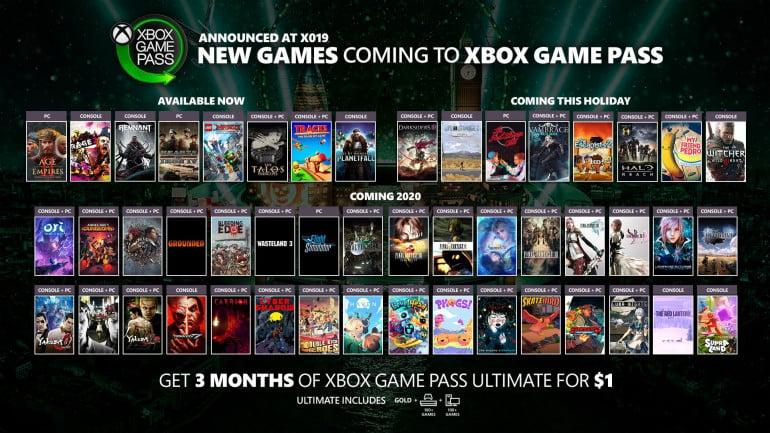Xbox Game Pass wzbogaci się o mnóstwo nowych gier, Rage 2 czy Age of Empires II: Definitive Edition możecie pobrać już teraz