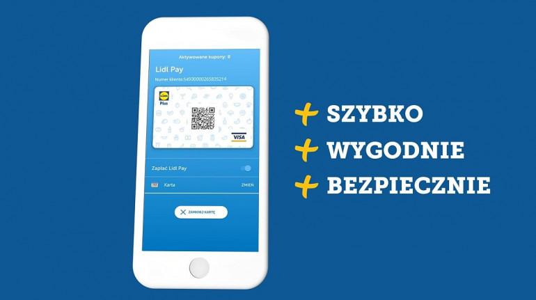Lidl Pay - nowa metoda płatności startuje w 2020 roku