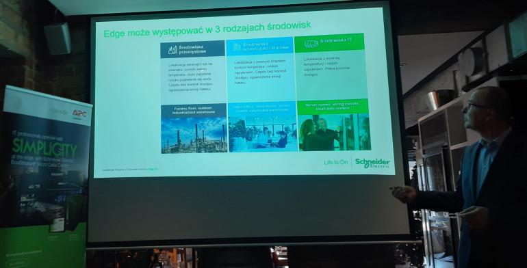 Schneider Electric omawia zagadnienie edge computingu i prezentuje nowości produktowe