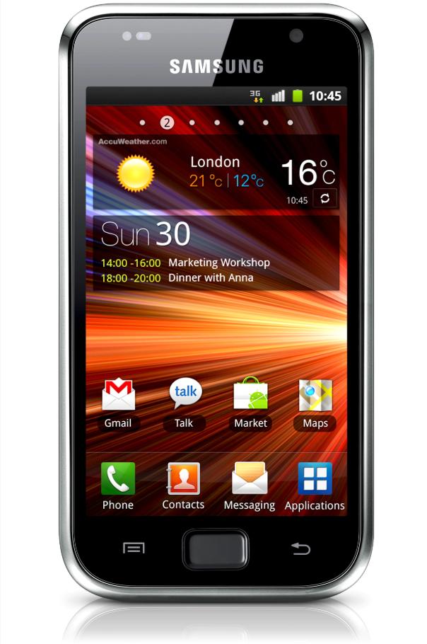 Samsung Galaxy S Źródło: Samsung