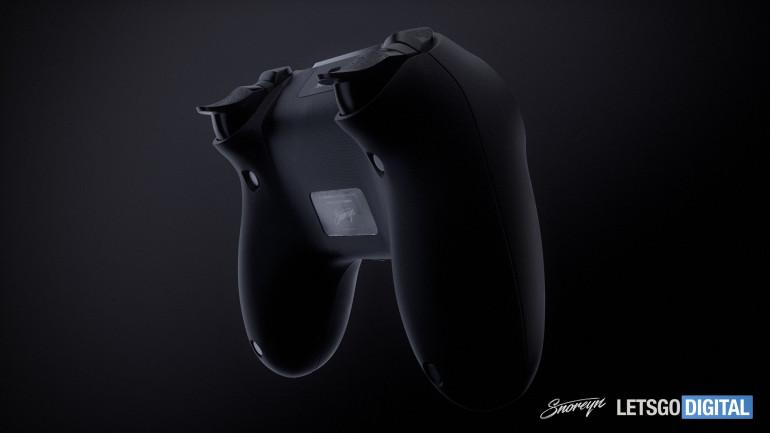 PlayStation 5 - kontroler DualShock 5 i konsola na kolejnych renderach
